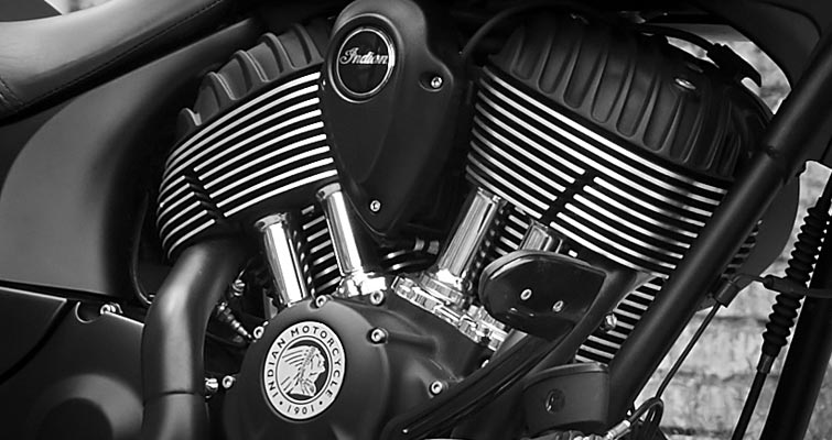 Indian® Chief® Dark Horse - THUNDER STROKE® 111