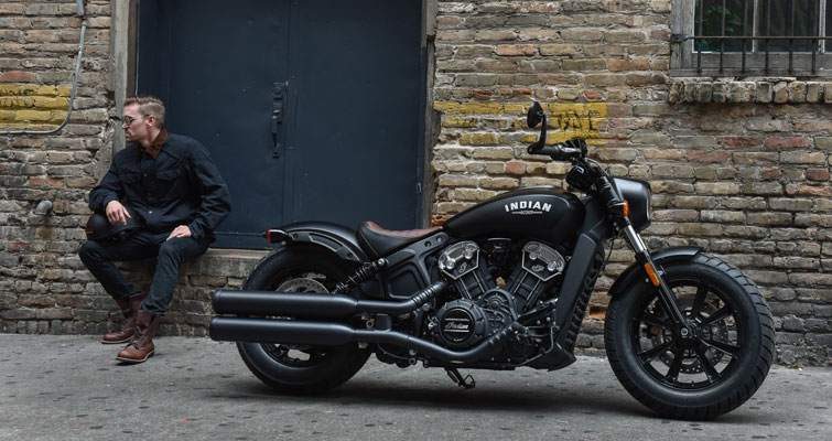 Indian® Scout Bobber - VISUAL DARK