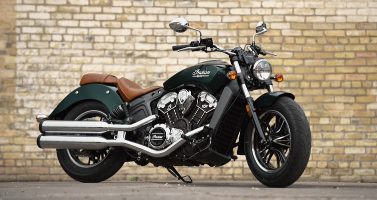 Indian® Scout - CHASSI EM ALUMÍNIO FORJADO