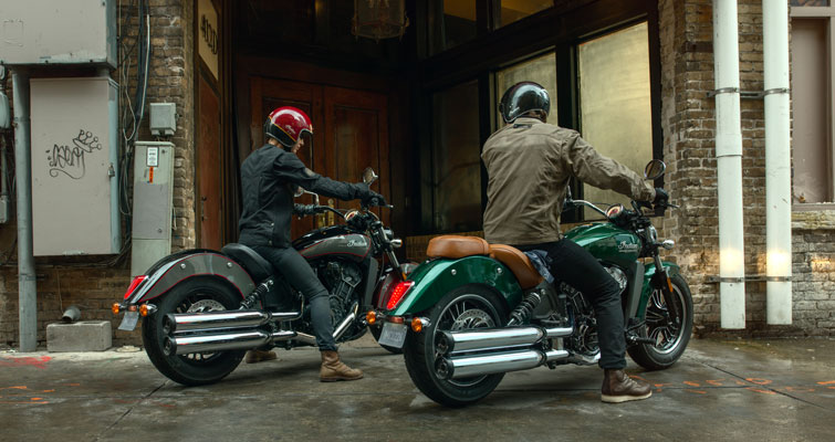 Indian® Scout - TECNOLOGIA MODERNA
